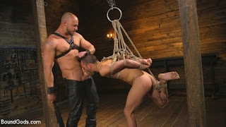 Jessie Colter, Chance Summerlin New house slave offers himself to the sexual desires of Master Colte