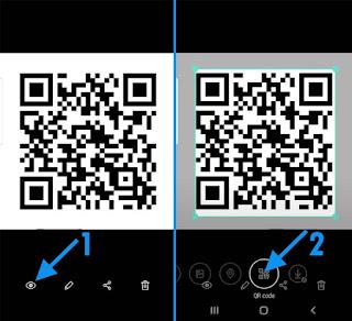 Cara Scan QR Code di HP Samsung Tanpa Aplikasi