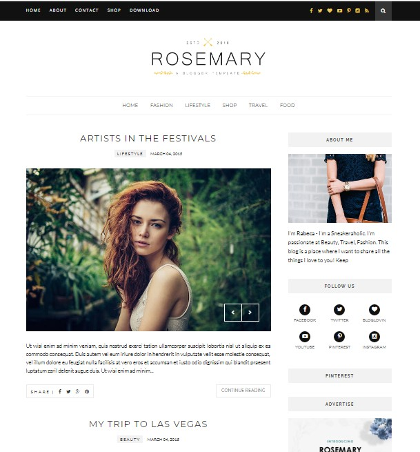 responsive blogger template by tectuner
