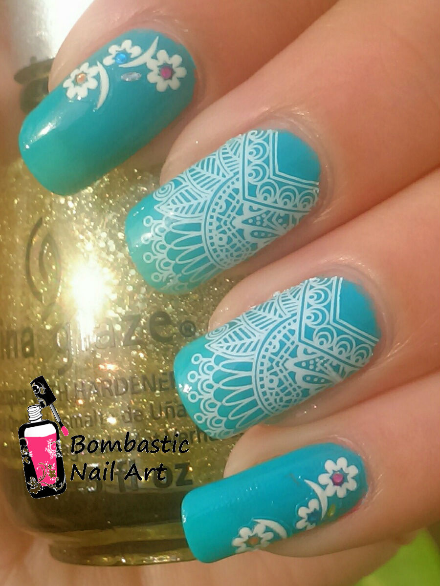 How to Make a Nail Art Lace Effect