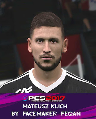 PES 2017 Mateusz Klich Face by Feqan