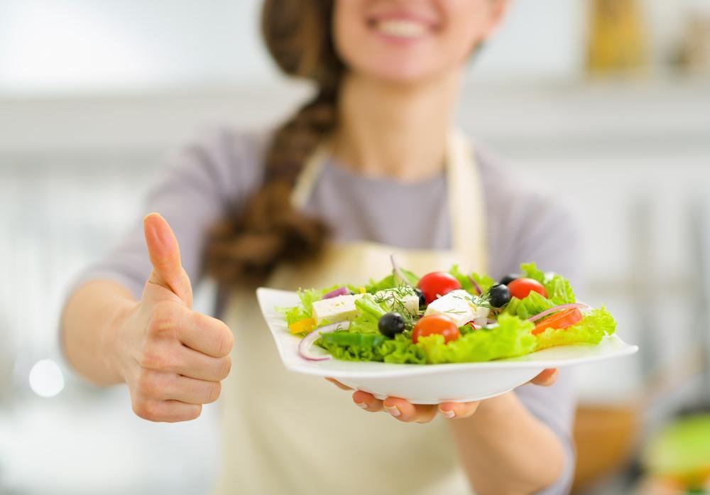 disciplina para comer corretamente