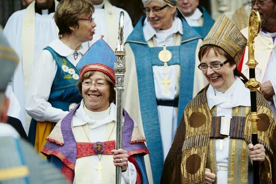 #Religion :  Lesbian Bishop , from #Sweden , Grilled for Claiming She Has 'More in Common With #Muslims' Than #Christians!