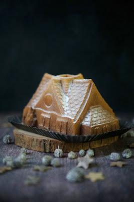 moule nordic ware , cake reconfortant , épices , cannelel