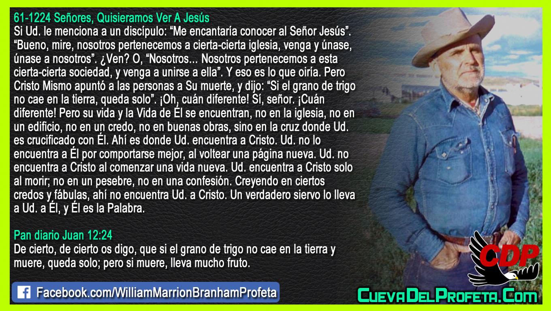 Donde Usted es crucificado con Él - William Branham en Español