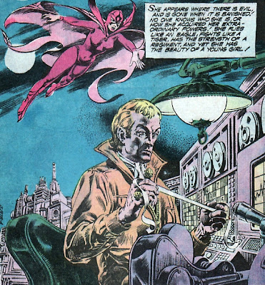 Black Orchid splash page, Phantom Stranger #35
