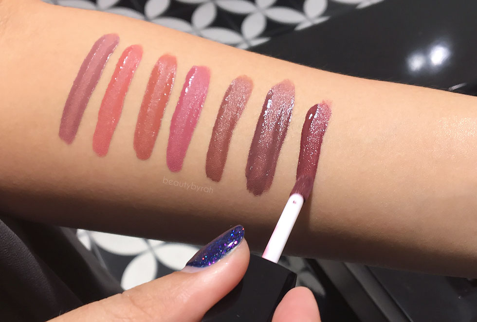 Inglot Cosmetics What A Spice! HD Lip Tint Matte Swatches