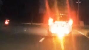 Mobil Norakkk, pasang lampu belakang bikin silau