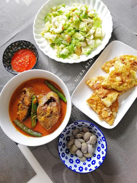 Resepi Gulai Kari Ikan Tongkol Mudah dan Sedap