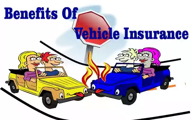 What are the benefits of vehicle insurance?