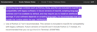 أبل تقرر عدم إضافة ملفات تشغيل الـ scripting languages بشكل افتراضى