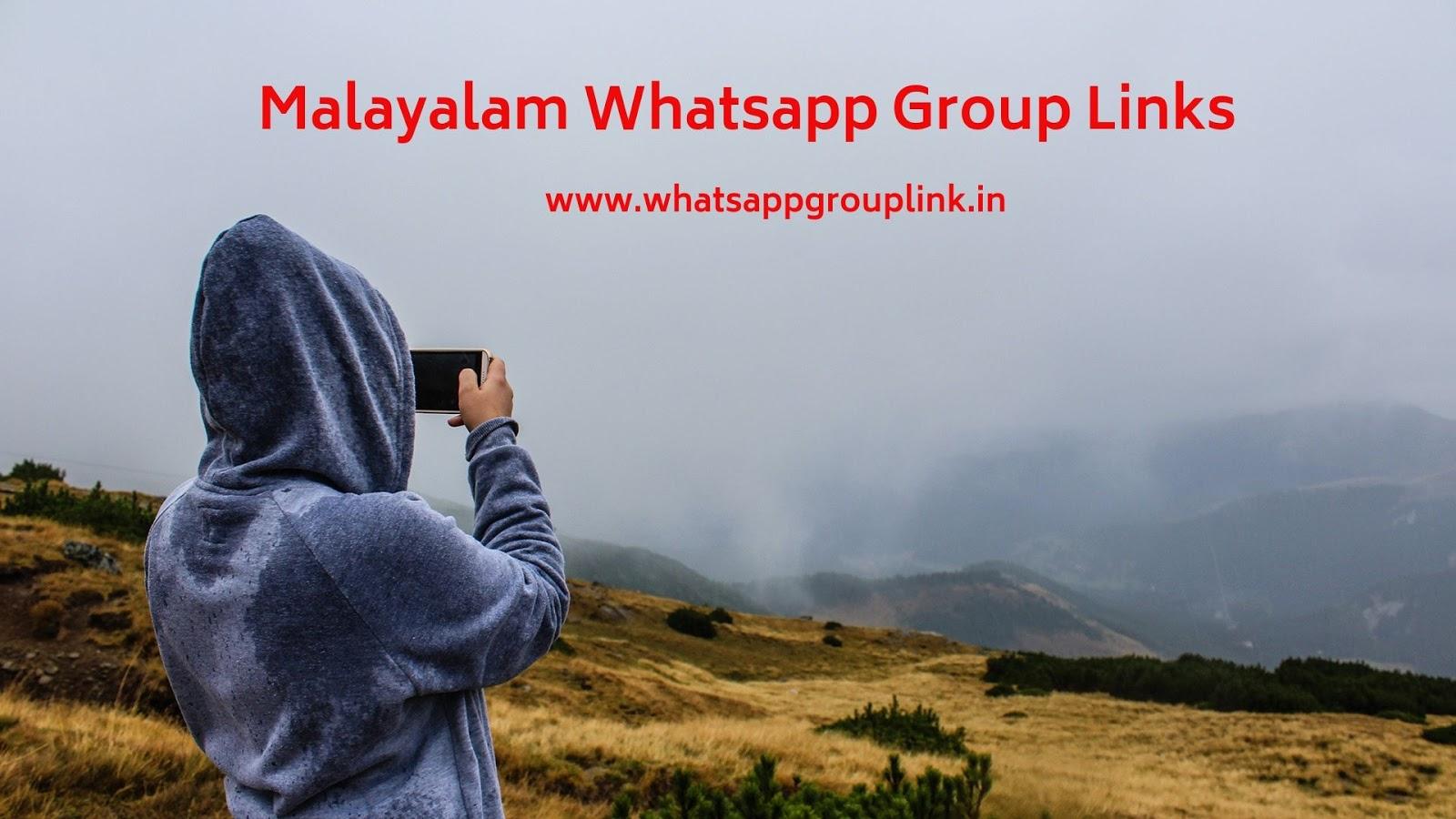 Whatsapp Group Link: Malayalam Whatsapp Group Links