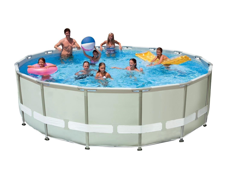 Best seller intex pools reviews intex pools 16 x 48 for Intex 15 x 48 metal frame swimming pool