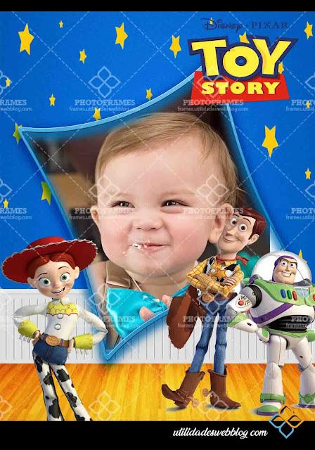 Marco digital para fotos para cualquier ocasión inspirado en Toy Story