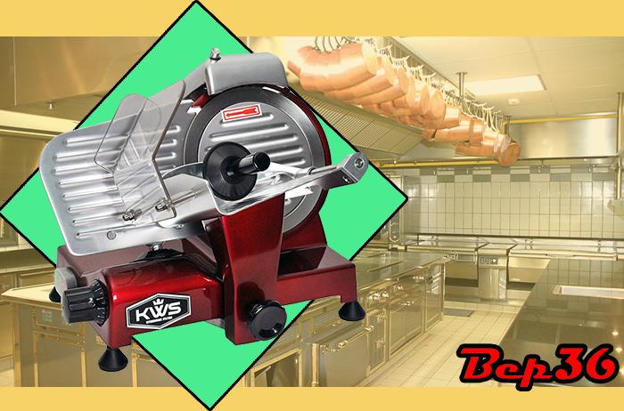 Máy thái thịt chín công nghiệp Bep36 hiện đại hợp với xu hướng của thời đại.
