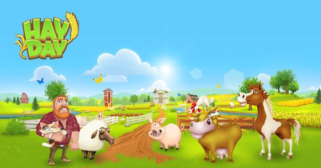 لعبة  hay day الجديدة