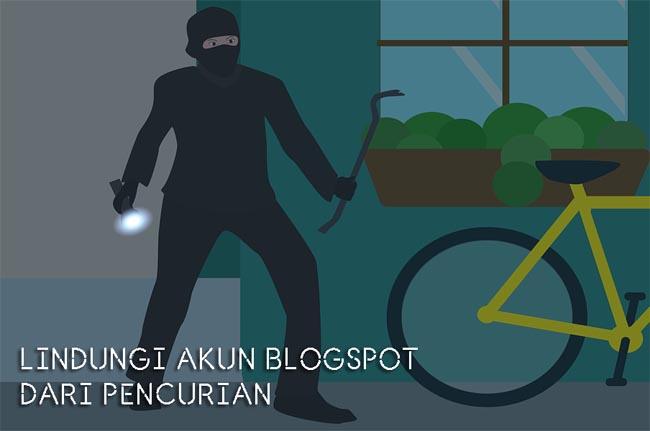 mengamankan akun blogspot