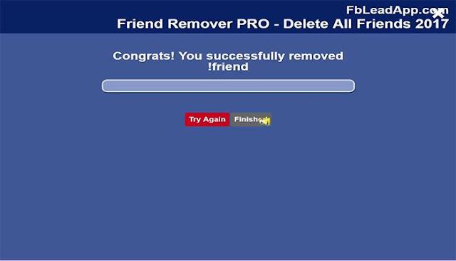 كيف تحذف جميع أصدقائك الوهميين او عدد كبير منهم من الفيسبوك 5