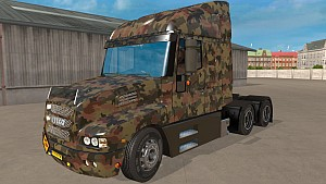 Army Camo Iveco Strator skin