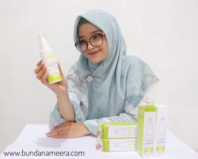 KO Virus Disifectant Spray ampuh bunuh virus corona