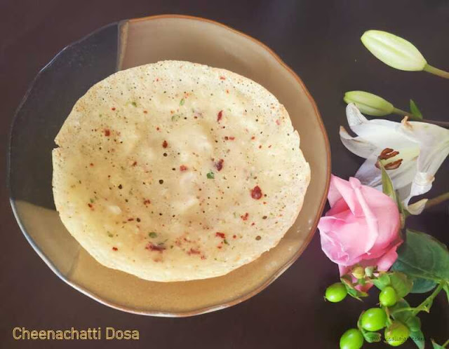 images of Cheenachatti Dosa Recipe / Cheena Chatti Dosa Recipe - Kerala Breakfast Recipe
