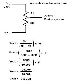 tegangan potensiometer