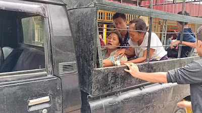 Ambulance Rusak Nias Barat Rusak, Mobil L300 antar Pasien ke rumah Sakit Gusit, Warga minta Pemda harus Tegas