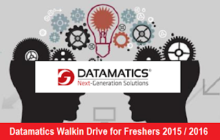 Datamatics Walkin Drive for Freshers