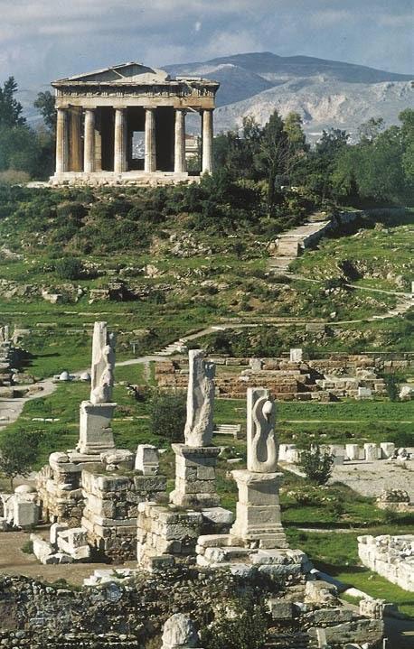 Έρευνα: Ψώνια στην Αγορά στην αρχαία Αθήνα