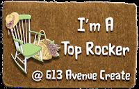 Winner of Top Rocker at 613 Avenue Create Challenge Blog