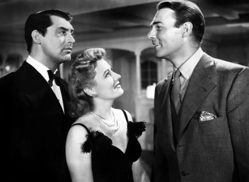 Cary Grant, Irene Dunne, et Randolph Scott dans Mon épouse favorite de Garson Kanin (1940)