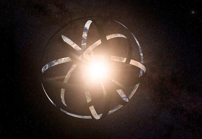 Civilizações avançadas podem estar usando esferas de Dyson