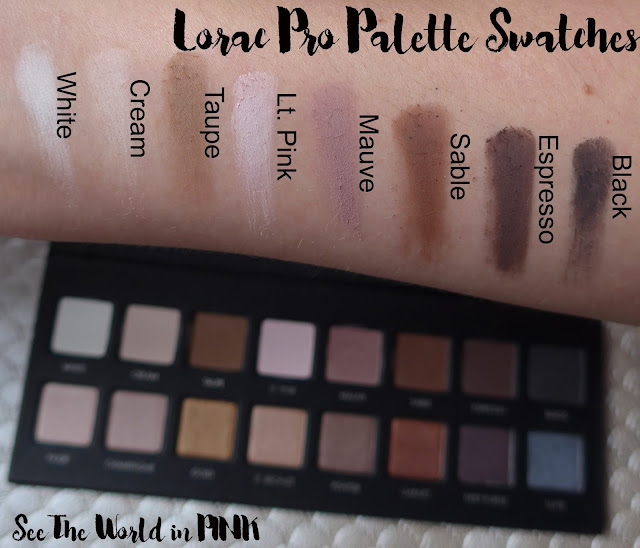 Lorac Pro Palette - Swatches, Makeup Looks, and Review!