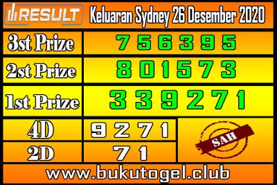 Keluaran Sydney 26 Desember 2020