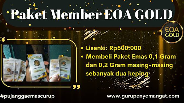Paket Pendaftaran Member EOA Gold