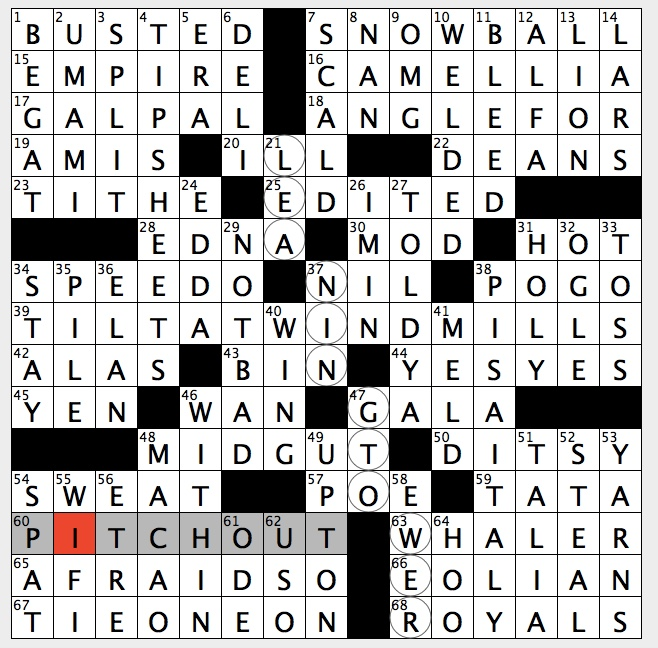 Rex Parker Does The Nyt Crossword Puzzle Former Colony That S Gambling Mecca Wed 11 7 18 Meaning Of Simba In Swahili Tricky Bowling Situation 1060s Muscle Car Gin Rummy