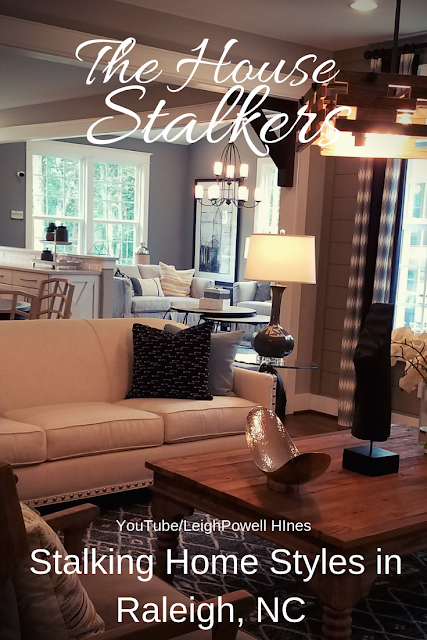 Inside a model home on The House  Stalkers