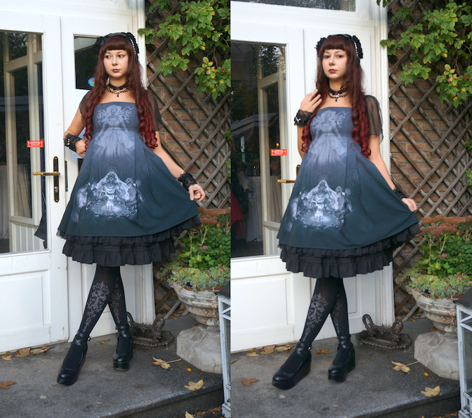 Lady Sloth, Lady Sloth jsk, Lady Sloth voice from the other side, lolita fashion