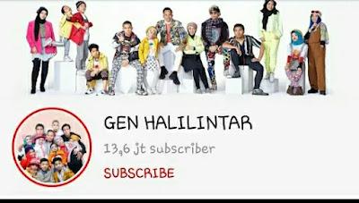 Gen Halilintar - YouTubers Indonesia