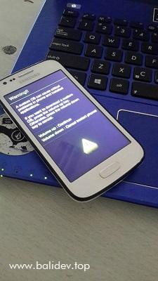 Cara Flash atau Install Ulang HP Samsung Galaxy Ace 3 - Bali