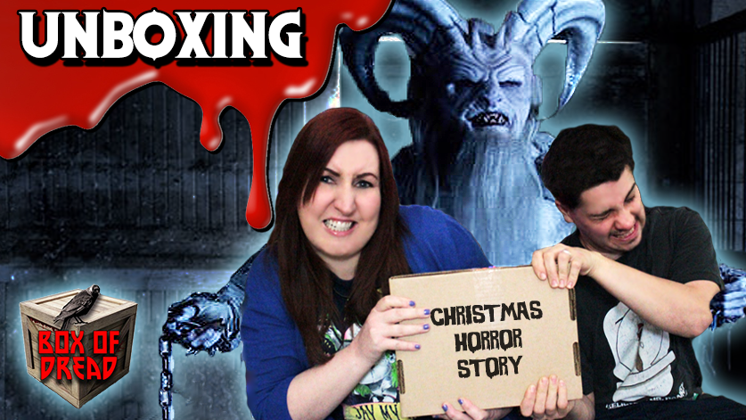box of dread december 2015 horror unboxing a christmas horror story predator - The Christmas Box Movie