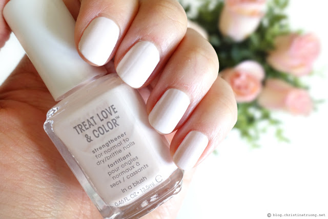 Christina Truong - Best of 2018: essie Treat Love & Color Nail Polish In a Blush