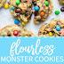 Flourless Monster Cookies