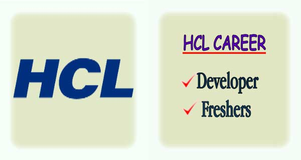 HCL Openings in Bangalore for Freshers