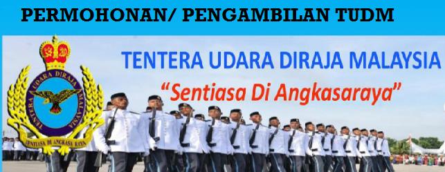Pengambilan TUDM 2017 Tentera Udara DiRaja Malaysia