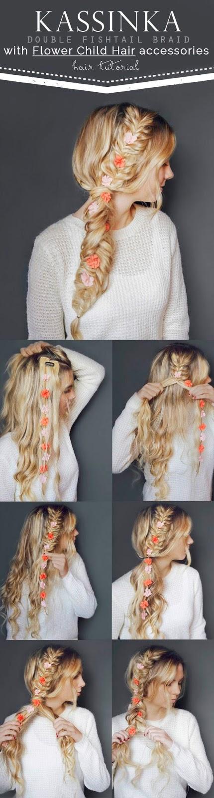 beautiful braid hair style idea