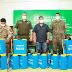 Gobernador del Chaco entrega pulverizadores a la policía y al ejército
