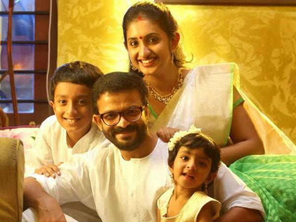 Jayasurya  family