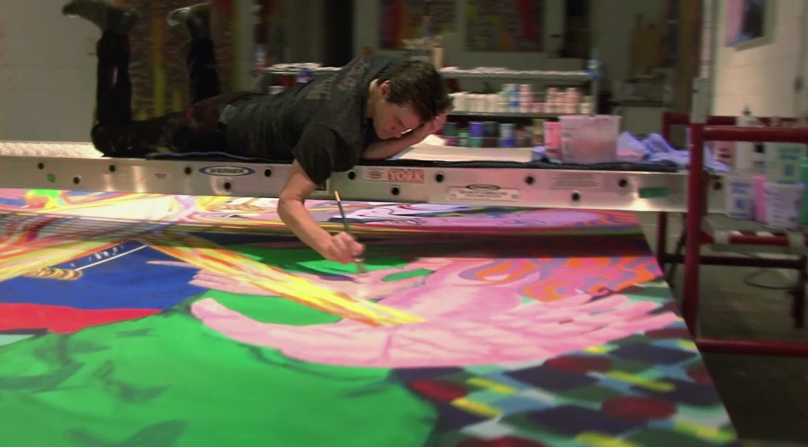 Jim Carrey's famous actor's Other Side As a Painter