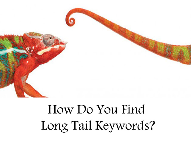 how do you find long tail keywords?